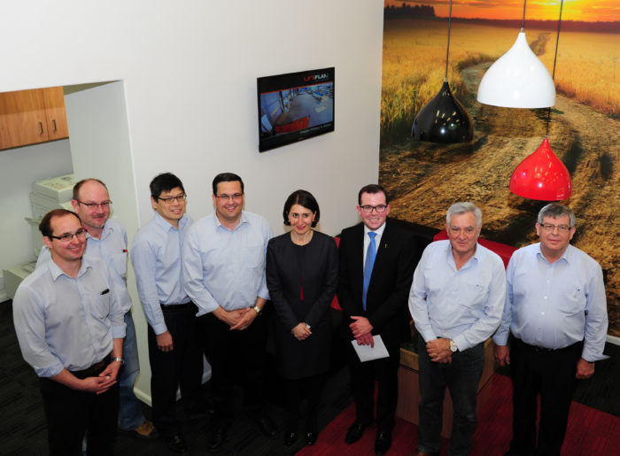 Visit from the NSW Treasurer