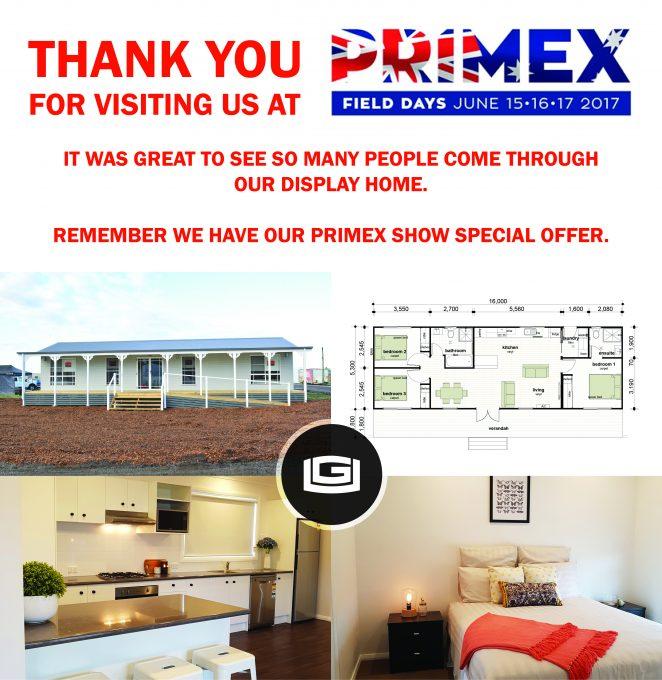 Primex Show Special Offer