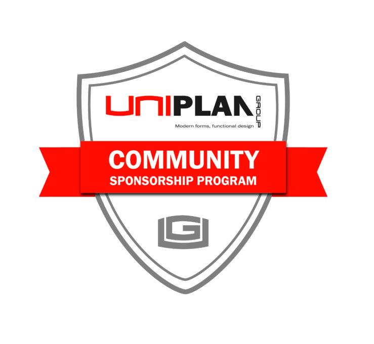 Uniplan Community Sponsorship Program.